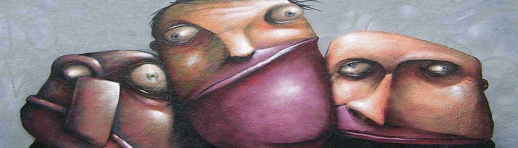 Kunststile - Graffiti und Streetart