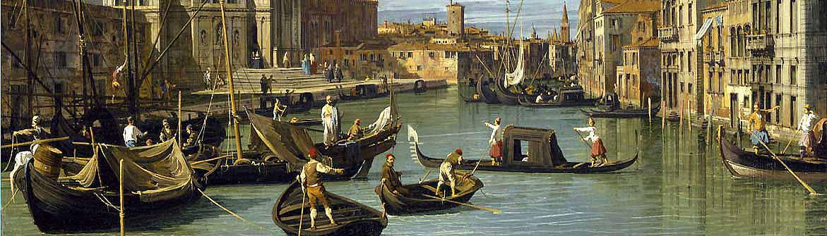Künstler - Canaletto (Giovanni Antonio Canal)